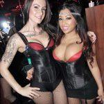 The Crazy Horse coctail waitresses